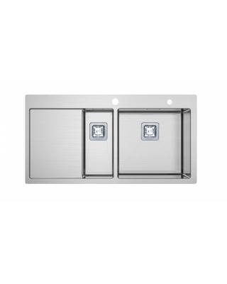 Кухонна мийка Fabiano TOP 89x15 Нержавіюча сталь